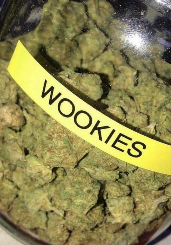 wookies weed, wookie cookie strain